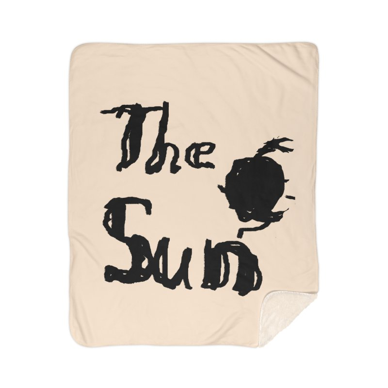 Shirt about the Sun Home Sherpa Blanket Blanket by Undying Apparel Shop