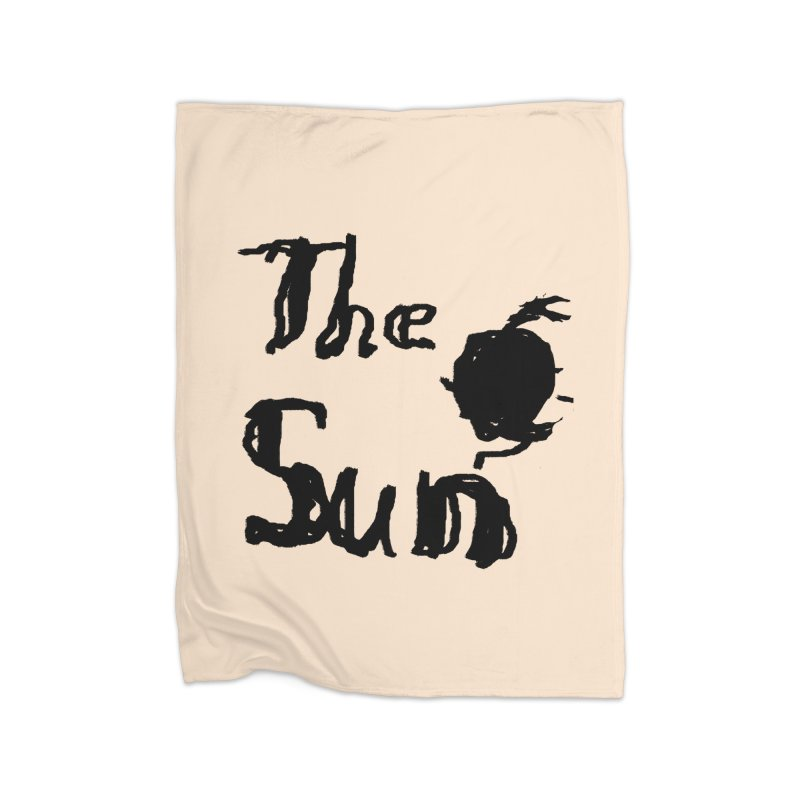 Shirt about the Sun Home Fleece Blanket Blanket by Undying Apparel Shop