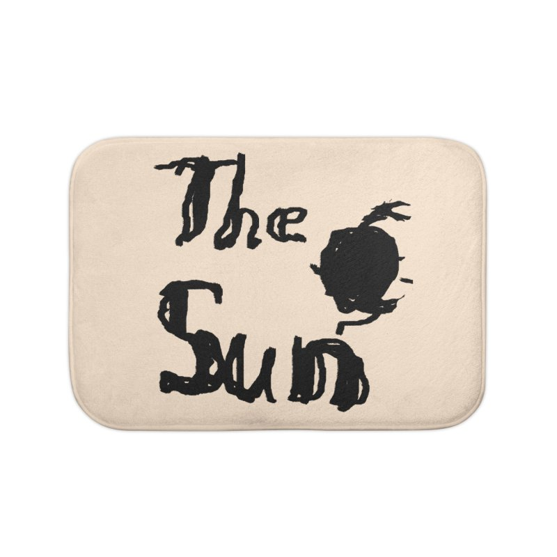 Shirt about the Sun Home Bath Mat by Undying Apparel Shop