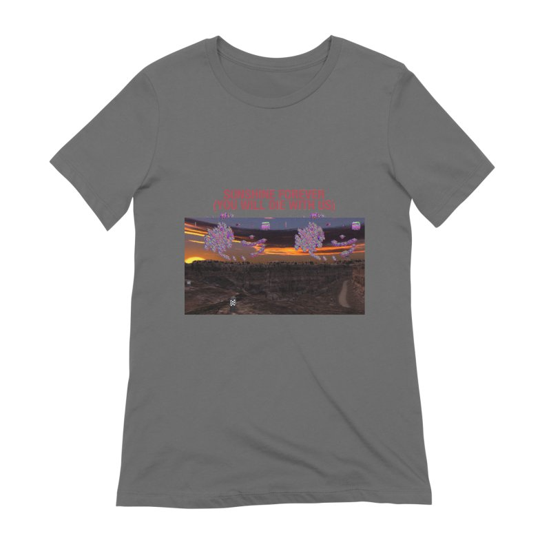 sunshine forevr Women's T-Shirt by Undying Apparel Shop