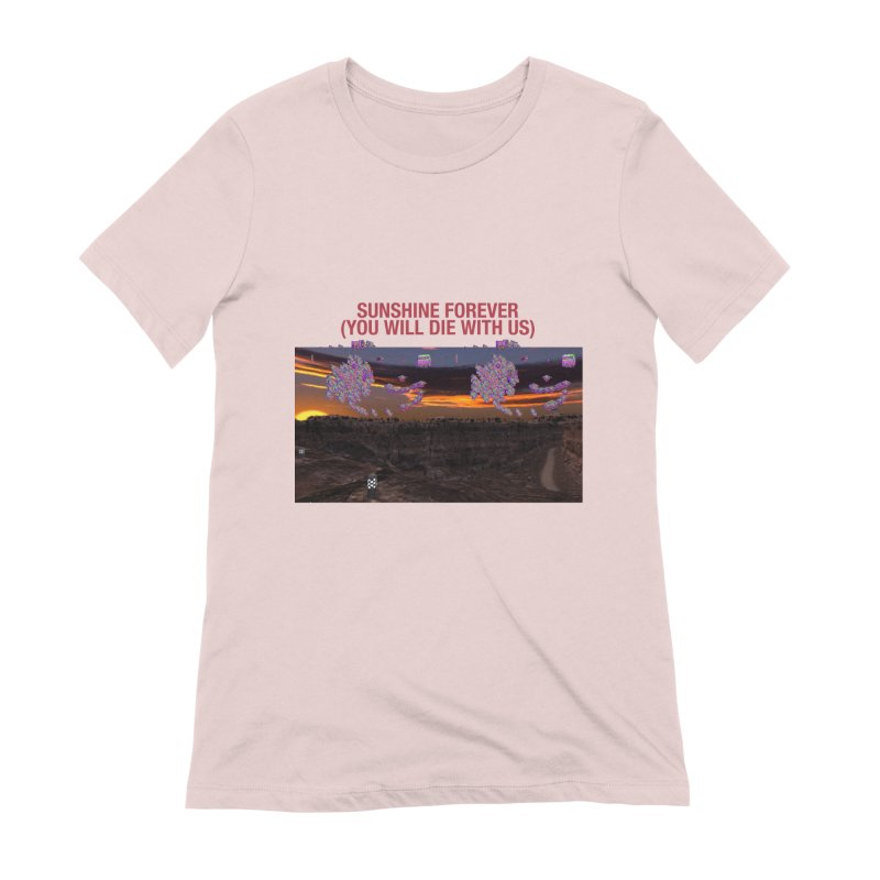 sunshine forevr Women's Extra Soft T-Shirt by Undying Apparel Shop