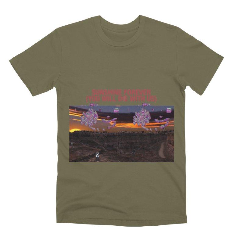 sunshine forevr Men's T-Shirt by Undying Apparel Shop