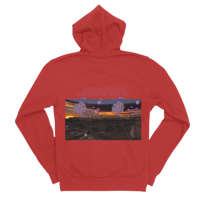 sunshine forevr Women's Zip-Up Hoody by Undying Apparel Shop