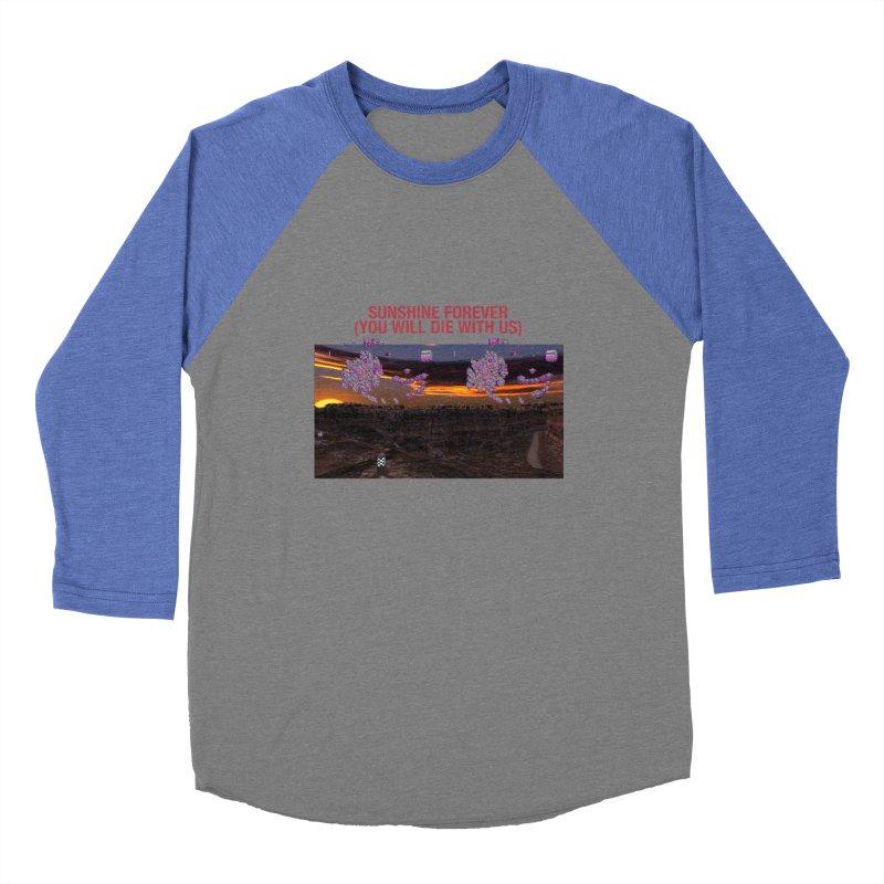 sunshine forevr Men's Baseball Triblend Longsleeve T-Shirt by Undying Apparel Shop
