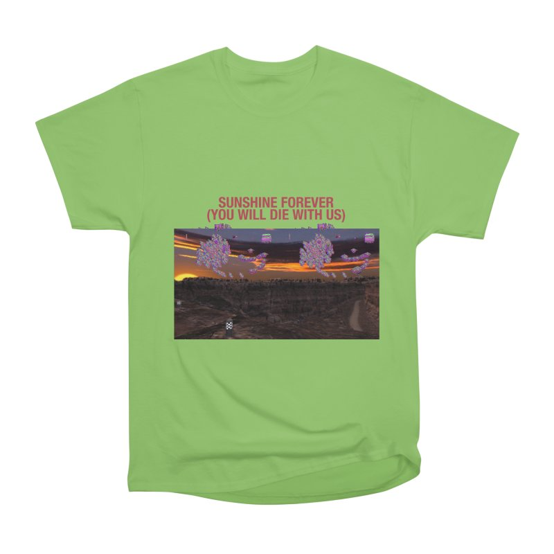 sunshine forevr Men's Heavyweight T-Shirt by Undying Apparel Shop