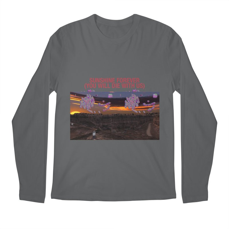 sunshine forevr Men's Longsleeve T-Shirt by Undying Apparel Shop