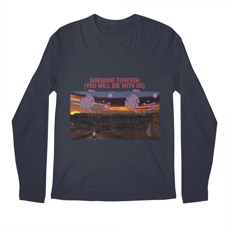 sunshine forevr Men's Regular Longsleeve T-Shirt by Undying Apparel Shop