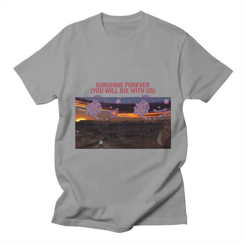 sunshine forevr Men's Regular T-Shirt by Undying Apparel Shop