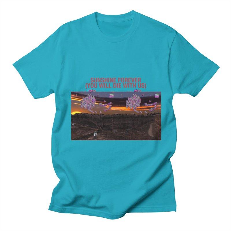 sunshine forevr Women's Regular Unisex T-Shirt by Undying Apparel Shop