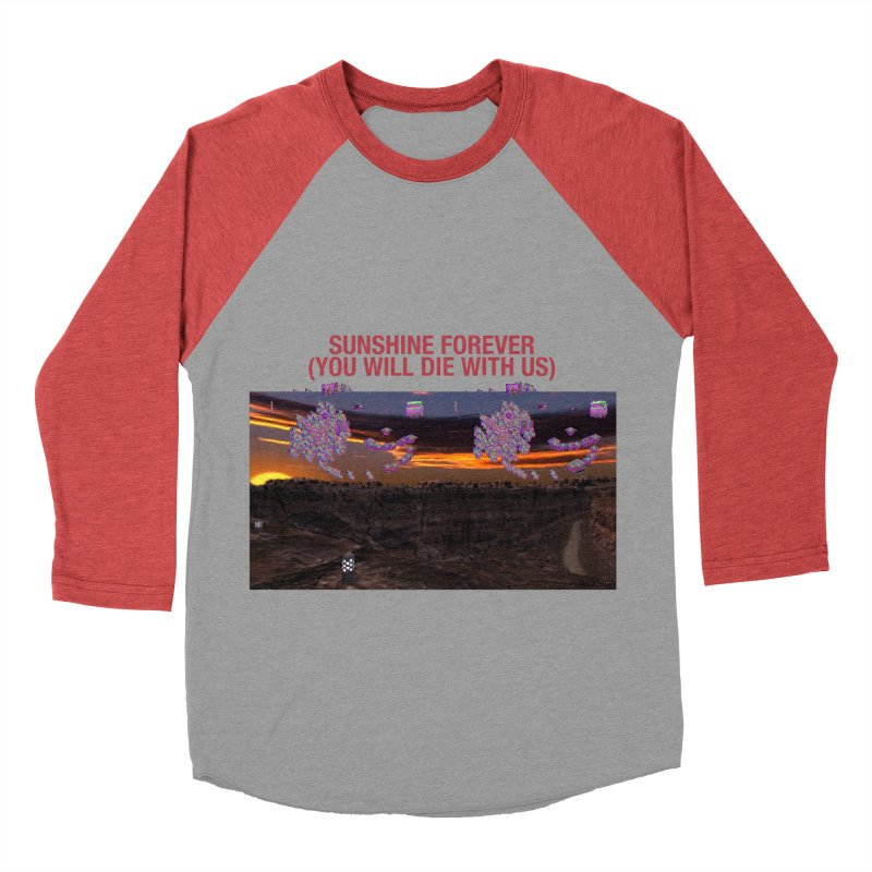 sunshine forevr Women's Baseball Triblend Longsleeve T-Shirt by Undying Apparel Shop
