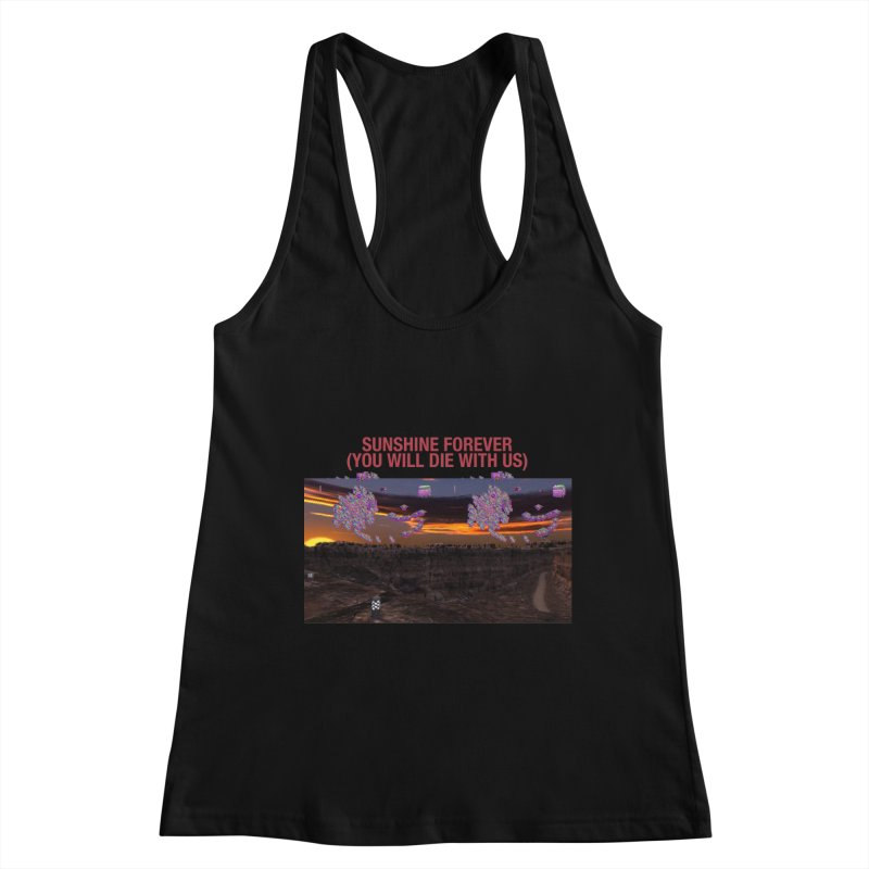 sunshine forevr Women's Racerback Tank by Undying Apparel Shop