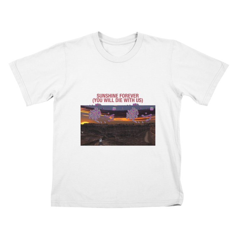 sunshine forevr Kids T-Shirt by Undying Apparel Shop