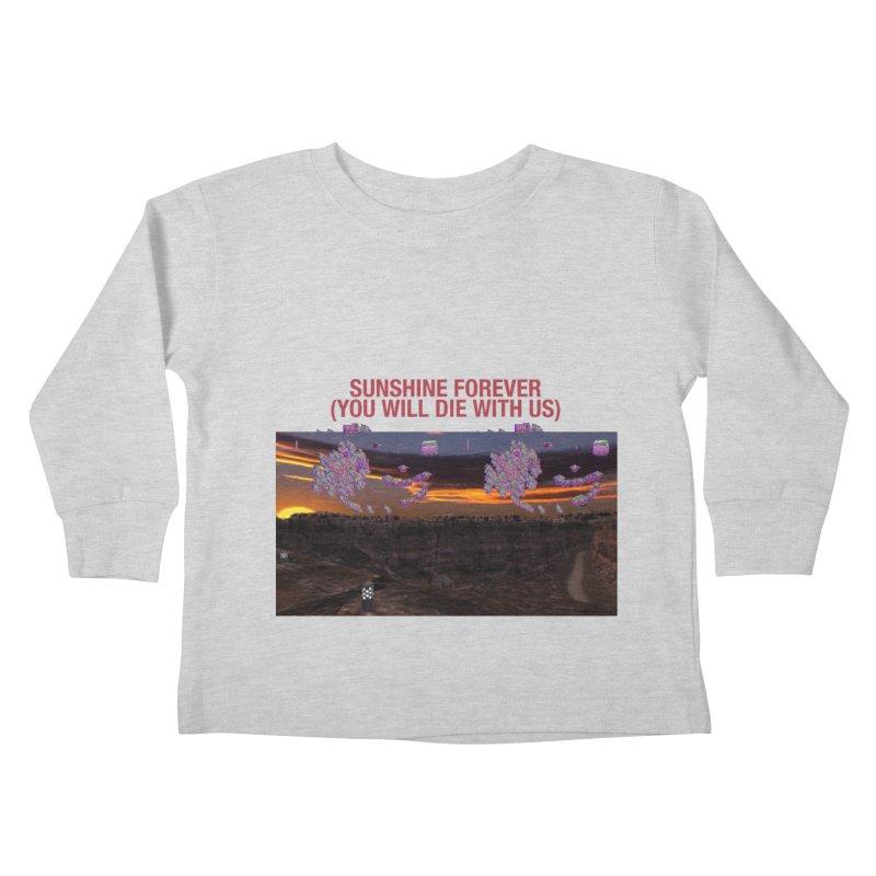 sunshine forevr Kids Toddler Longsleeve T-Shirt by Undying Apparel Shop