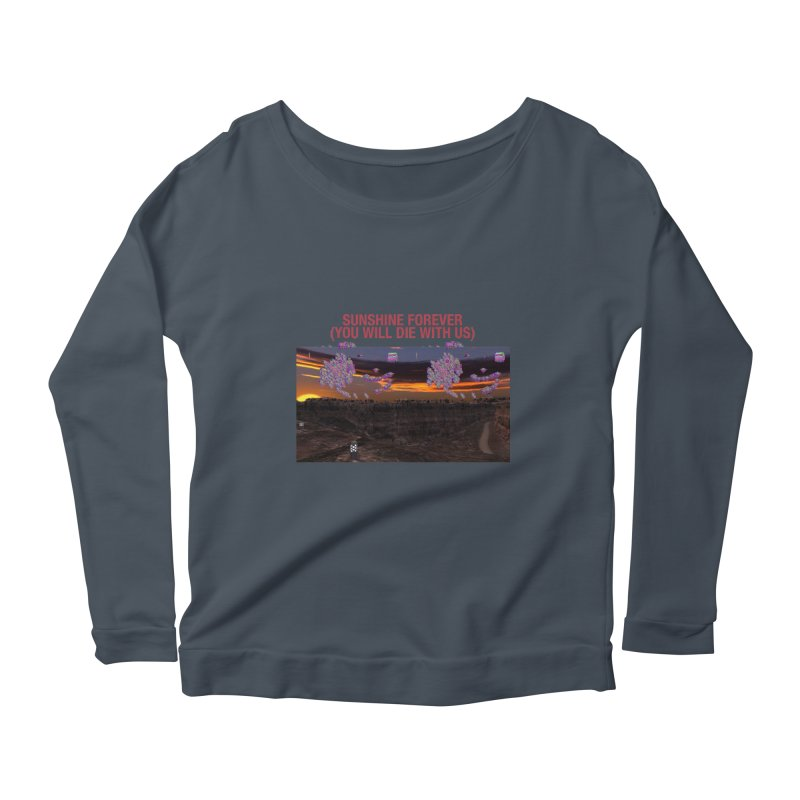 sunshine forevr Women's Scoop Neck Longsleeve T-Shirt by Undying Apparel Shop