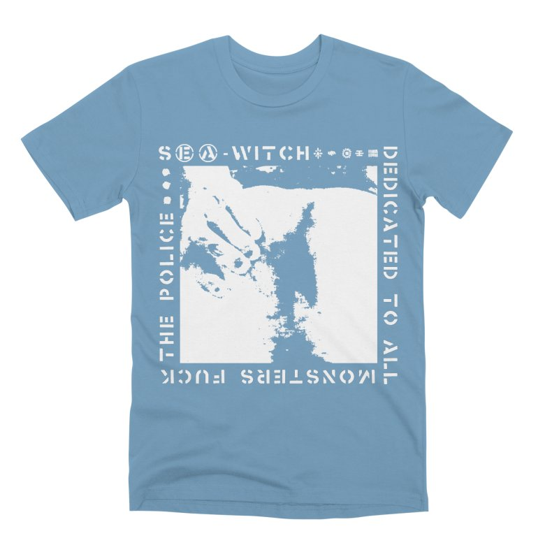 crass sea-witch design Men's T-Shirt by Undying Apparel Shop