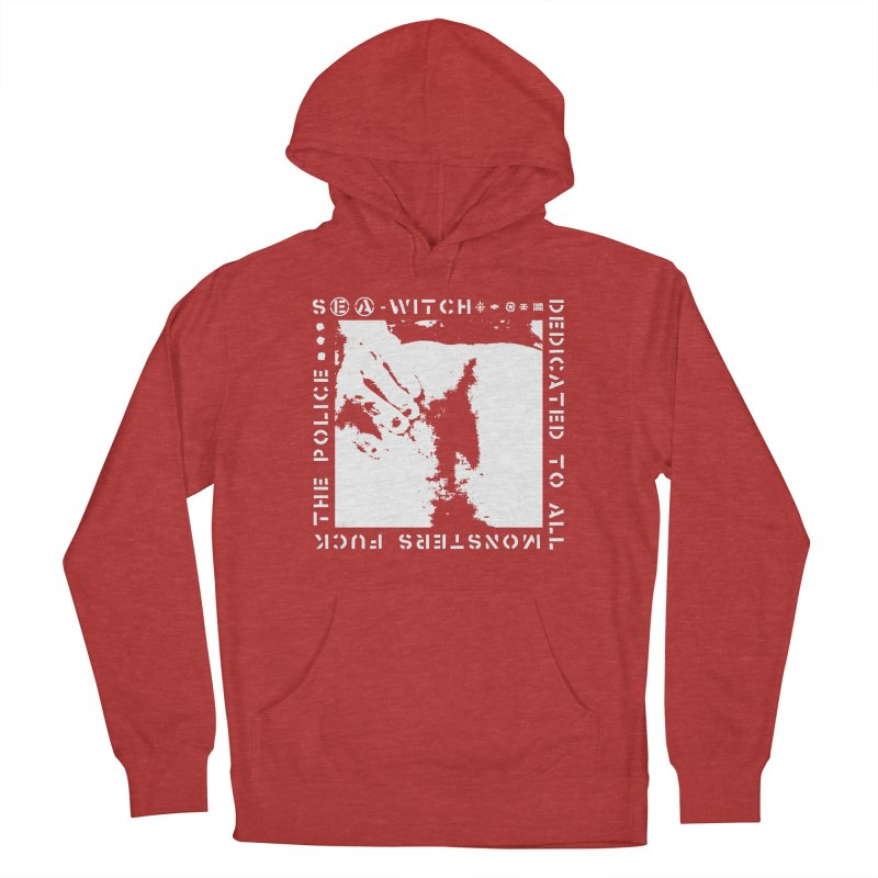 crass sea-witch design Men's French Terry Pullover Hoody by Undying Apparel Shop