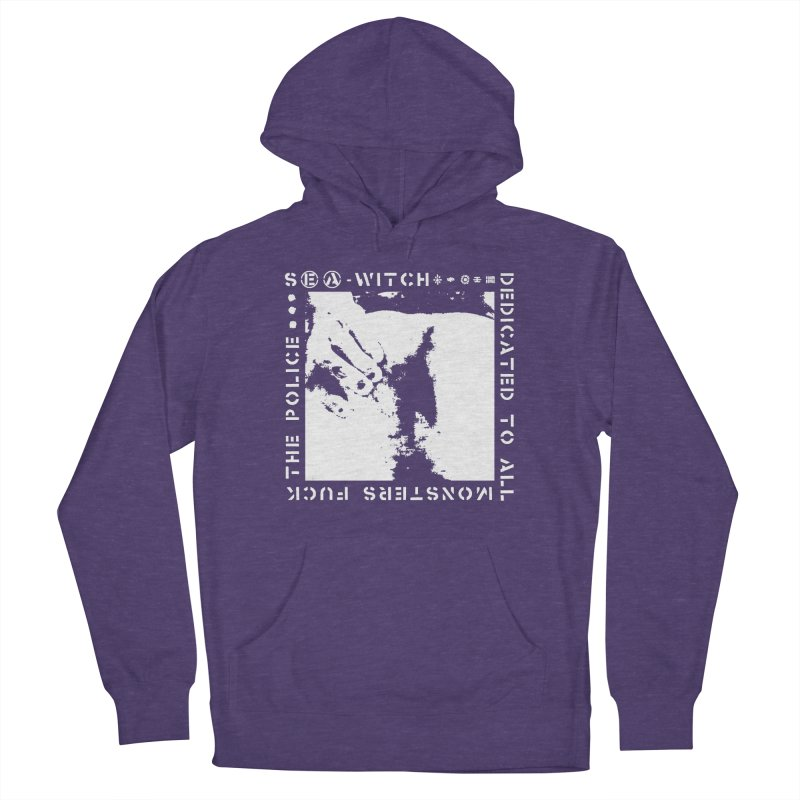 crass sea-witch design Women's French Terry Pullover Hoody by Undying Apparel Shop