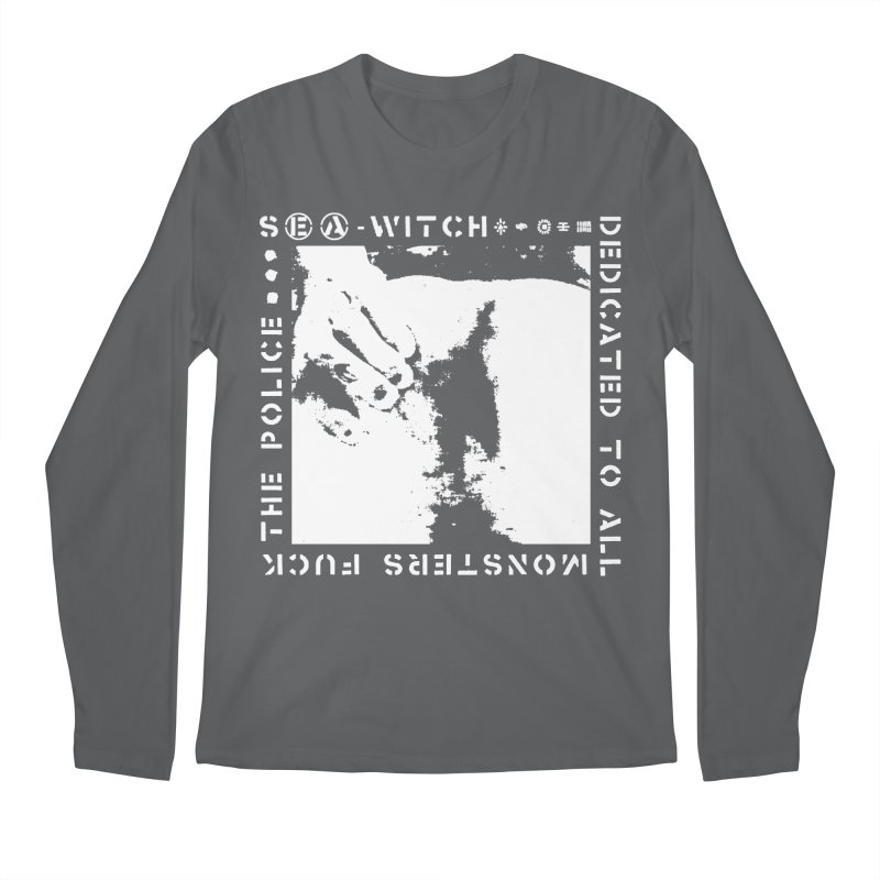 crass sea-witch design Men's Longsleeve T-Shirt by Undying Apparel Shop