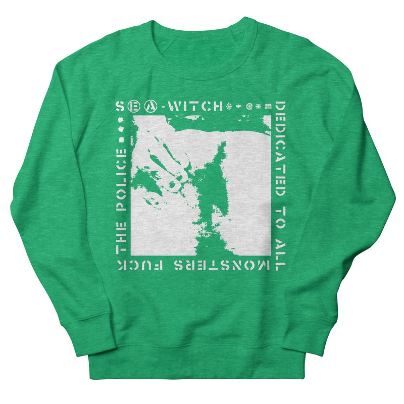 crass sea-witch design Women's Sweatshirt by Undying Apparel Shop