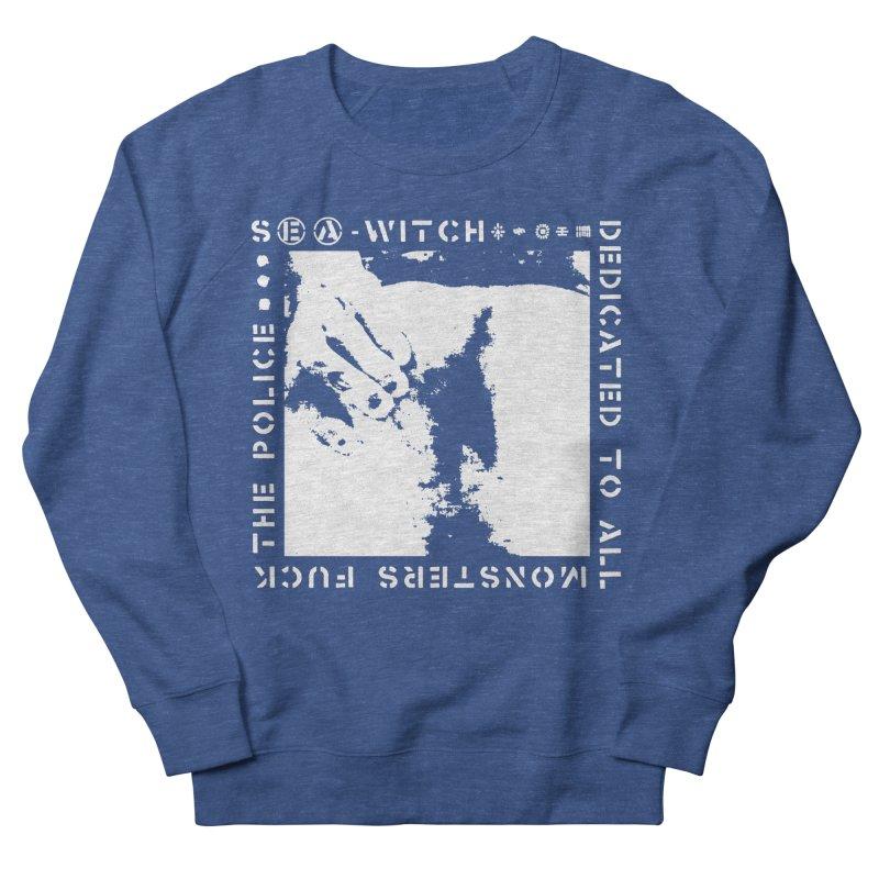 crass sea-witch design Men's Sweatshirt by Undying Apparel Shop