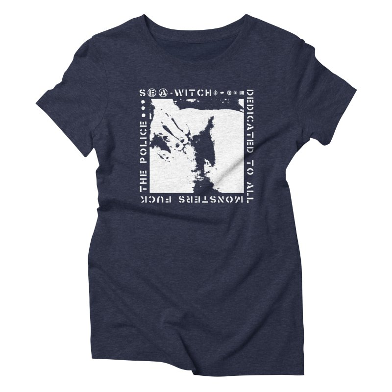 crass sea-witch design Women's T-Shirt by Undying Apparel Shop