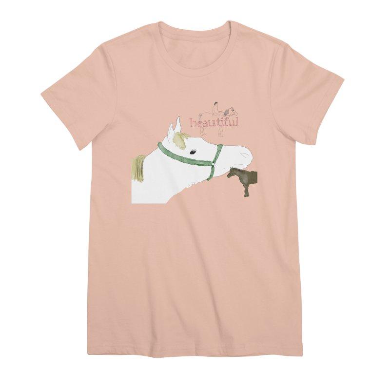beautiful Women's Premium T-Shirt by Undying Apparel Shop