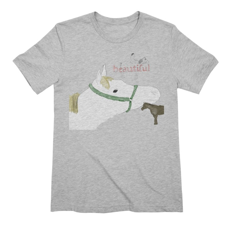 beautiful Men's Extra Soft T-Shirt by Undying Apparel Shop