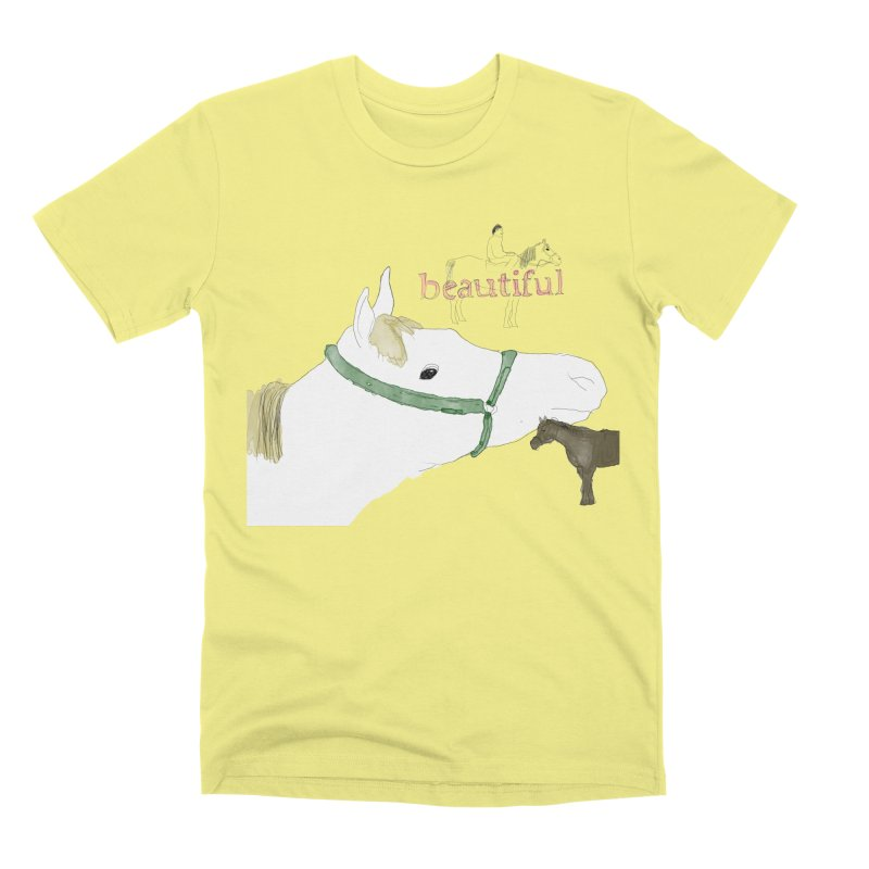 beautiful Men's Premium T-Shirt by Undying Apparel Shop