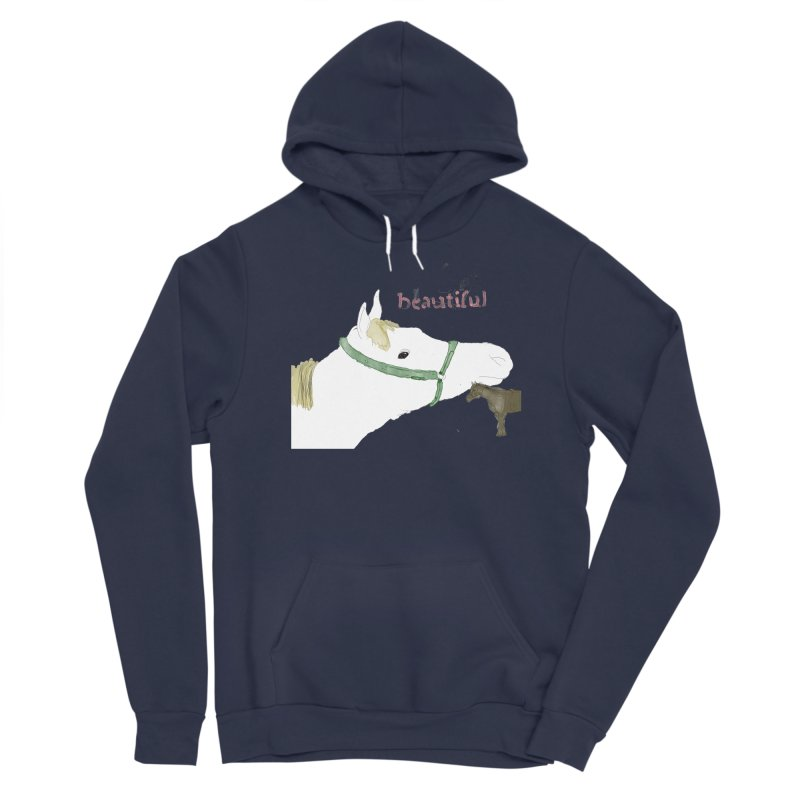 beautiful Women's Sponge Fleece Pullover Hoody by Undying Apparel Shop
