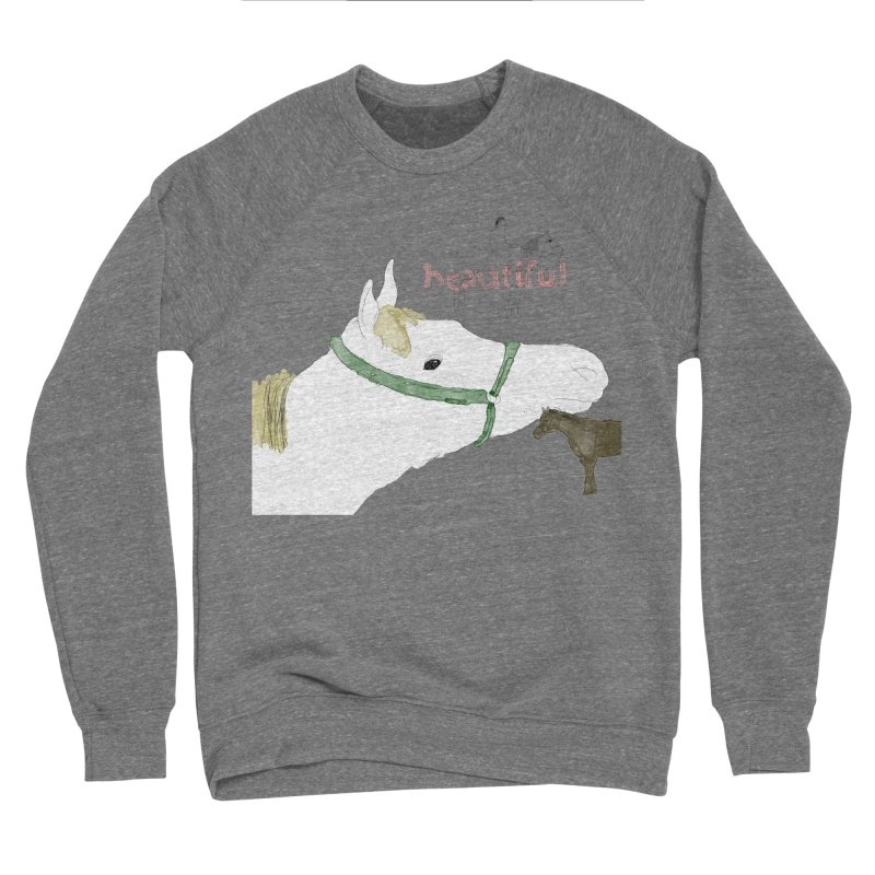 beautiful Men's Sponge Fleece Sweatshirt by Undying Apparel Shop