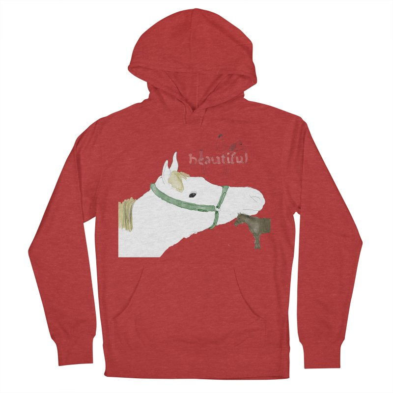 beautiful Women's French Terry Pullover Hoody by Undying Apparel Shop