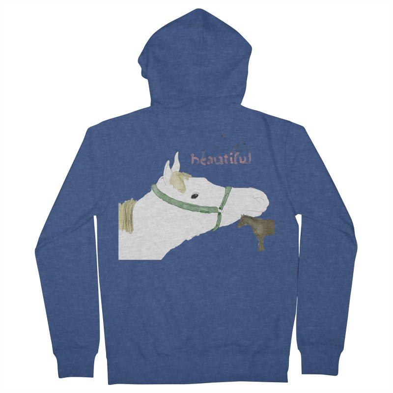 beautiful Women's French Terry Zip-Up Hoody by Undying Apparel Shop