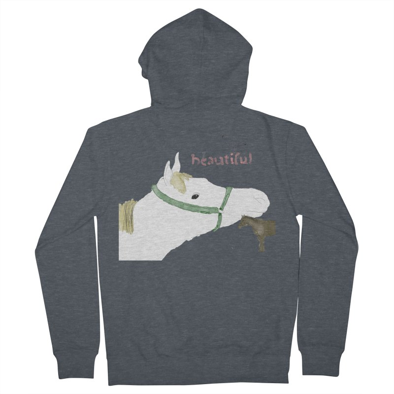 beautiful Men's French Terry Zip-Up Hoody by Undying Apparel Shop