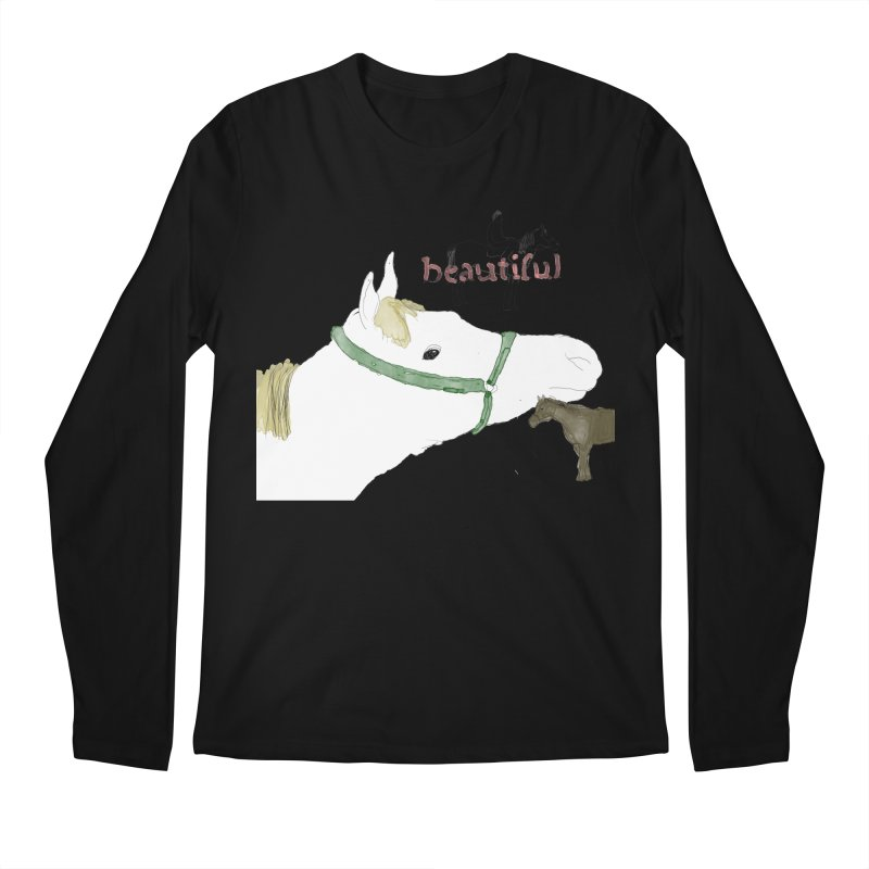 beautiful Men's Regular Longsleeve T-Shirt by Undying Apparel Shop