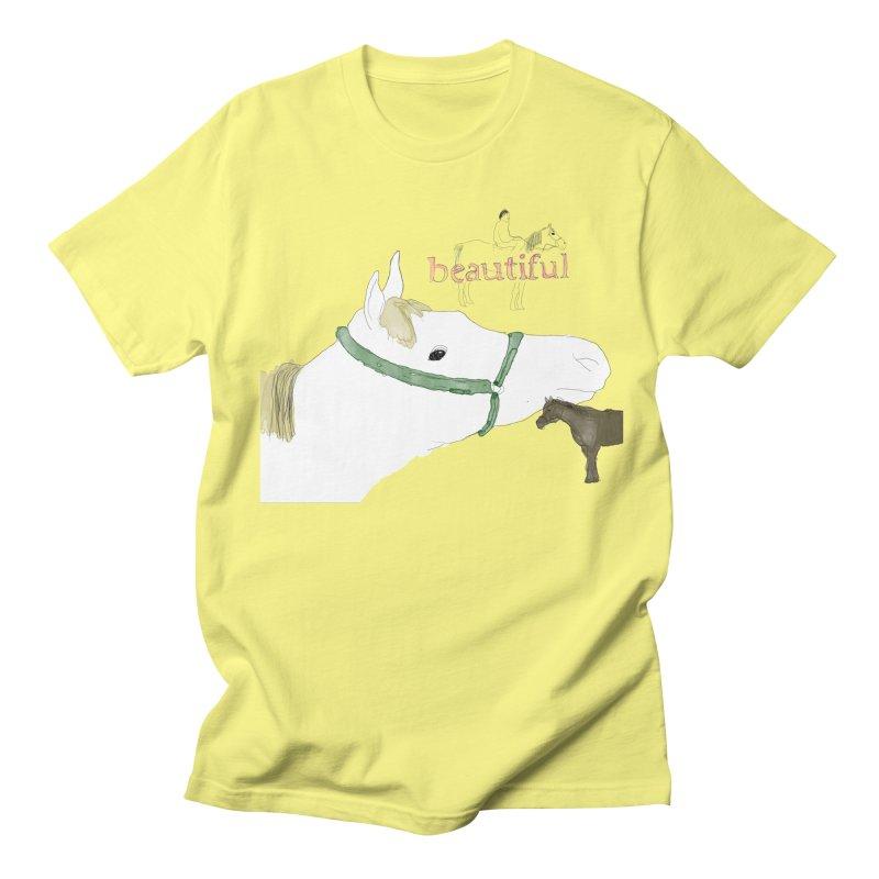 beautiful Men's Regular T-Shirt by Undying Apparel Shop