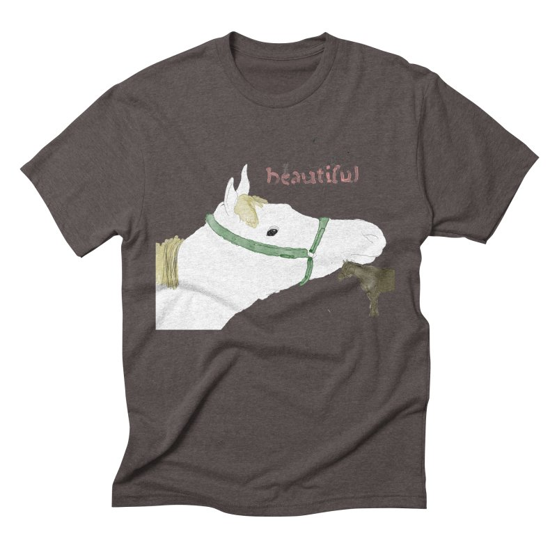beautiful Men's Triblend T-Shirt by Undying Apparel Shop