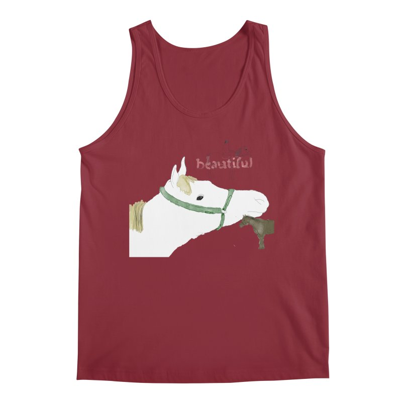 beautiful Men's Tank by Undying Apparel Shop