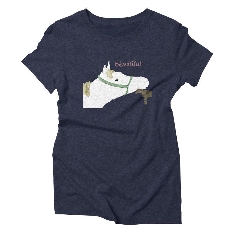 beautiful Women's Triblend T-Shirt by Undying Apparel Shop
