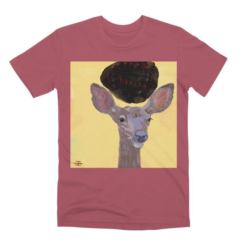 having Men's Premium T-Shirt by Undying Apparel Shop