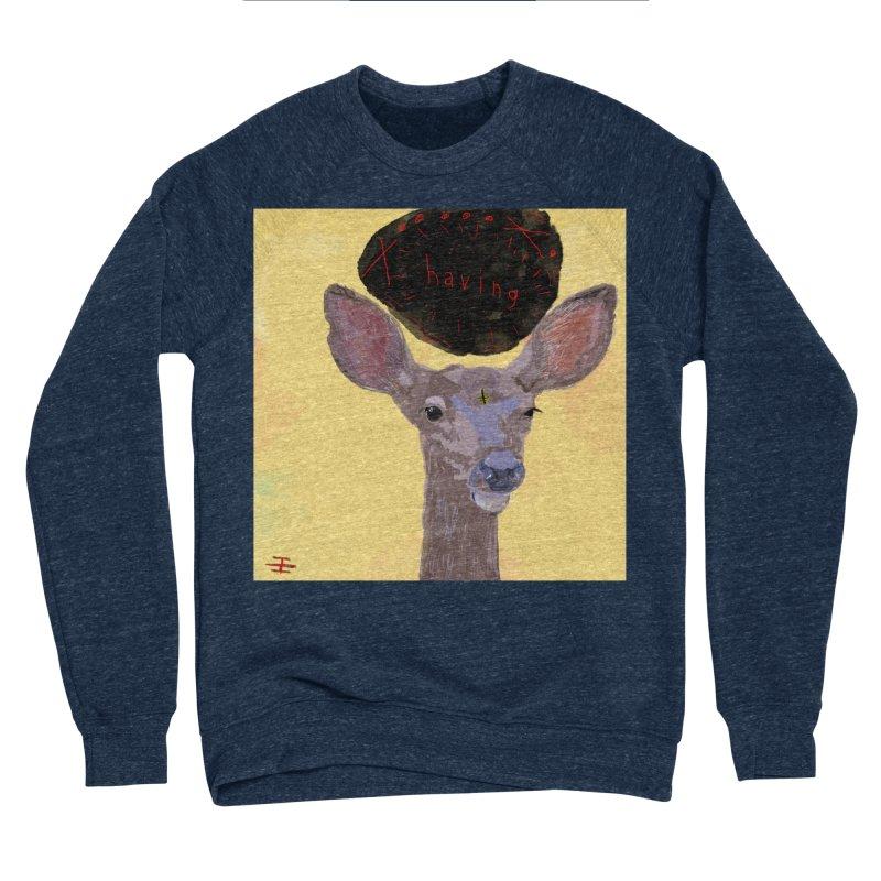 having Men's Sponge Fleece Sweatshirt by Undying Apparel Shop