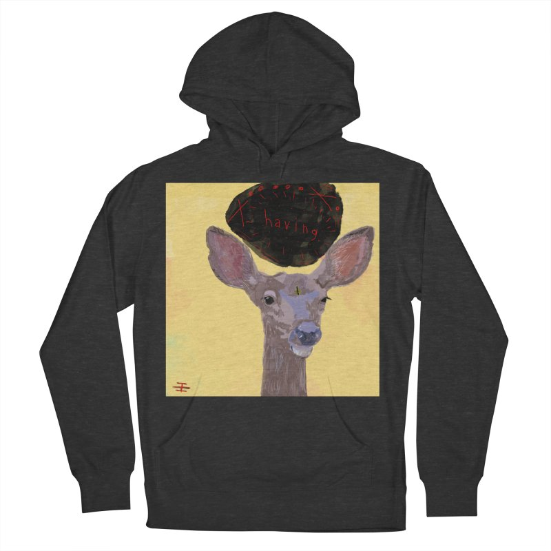 having Men's French Terry Pullover Hoody by Undying Apparel Shop