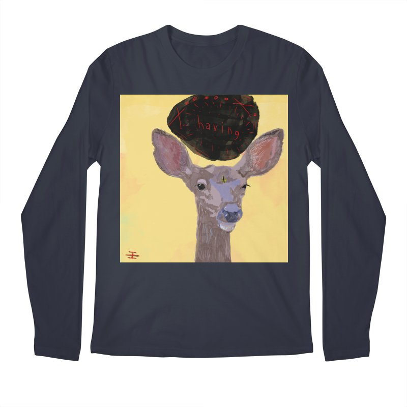 having Men's Regular Longsleeve T-Shirt by Undying Apparel Shop