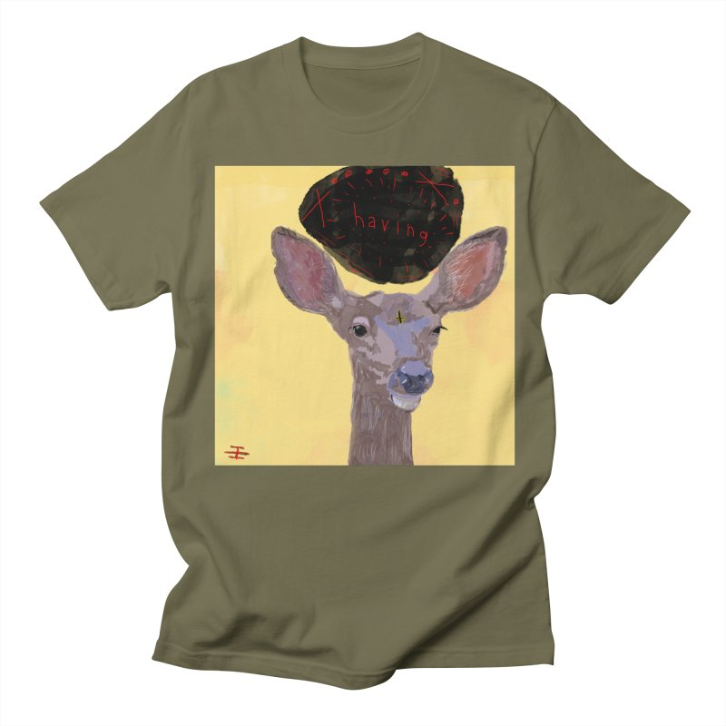 having Men's Regular T-Shirt by Undying Apparel Shop