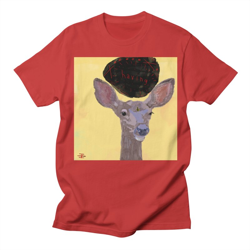 having Women's Regular Unisex T-Shirt by Undying Apparel Shop