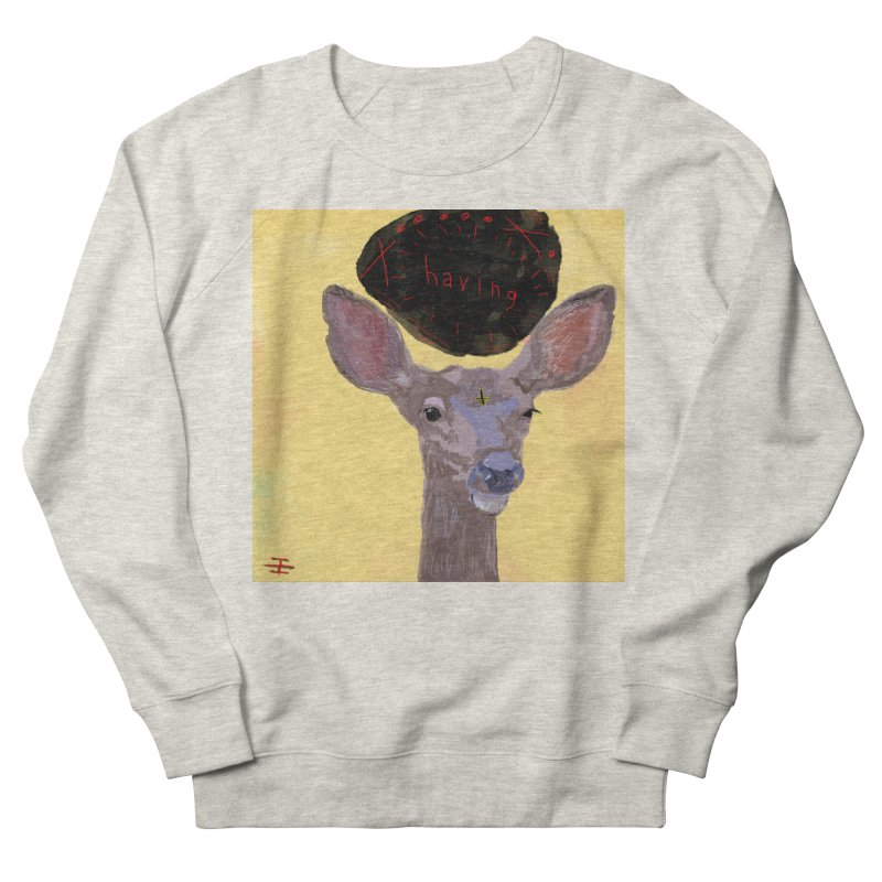 having Men's French Terry Sweatshirt by Undying Apparel Shop