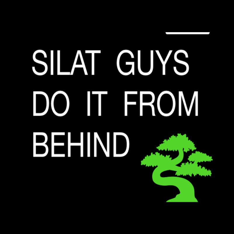 silat guys w bonsai by Art by Jessica J Newman Printed on Stuff