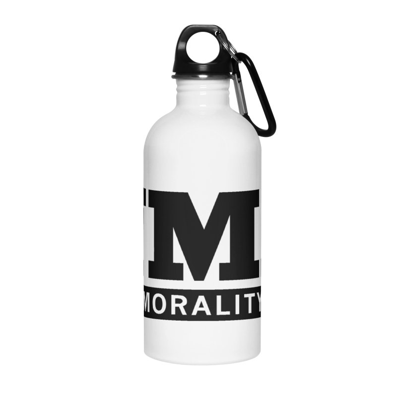 NMZ Logo Accessories Water Bottle by New Morality Zine