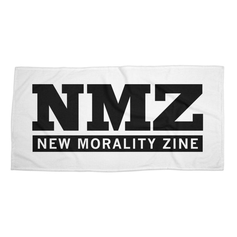 NMZ Logo Accessories Beach Towel by New Morality Zine