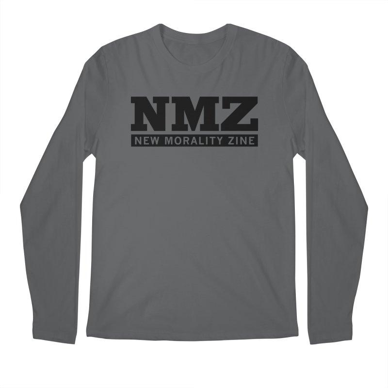 NMZ Logo Men's Regular Longsleeve T-Shirt by New Morality Zine