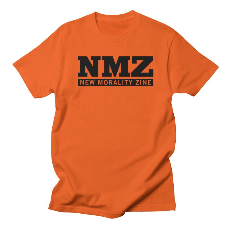 NMZ Logo Men's Regular T-Shirt by New Morality Zine